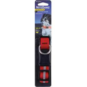 Nite Ize Nite Dawg LED Dog Collar Small Red